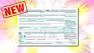 New Form 1040 - The Size of a Postcard (with a pile of attachments)