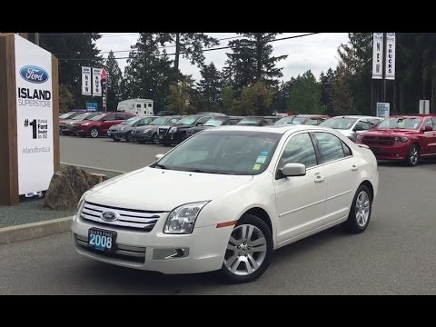 2008 Ford Fusion Sel W Sunroof Driver Seat Review Island