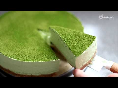 Green Tea Matcha Cheesecake (No Bake) | Recipe