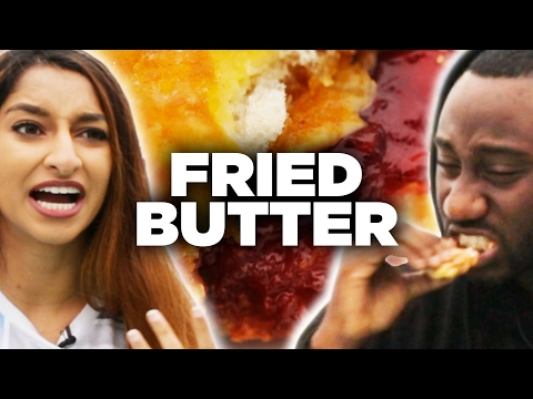 Thumbnail: Health Nuts Try Deep-Fried Foods