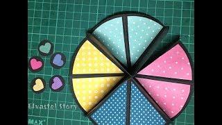圆形立体小书教学影片