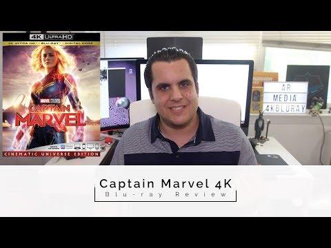 Captain Marvel 4K Blu-Ray Review