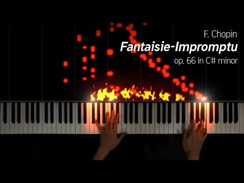 Chopin  FantaisieImpromptu, op 66 new setup