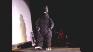 Unusual Mascots: 1983 World SciFi Convention: Best in Class- GODZILLA