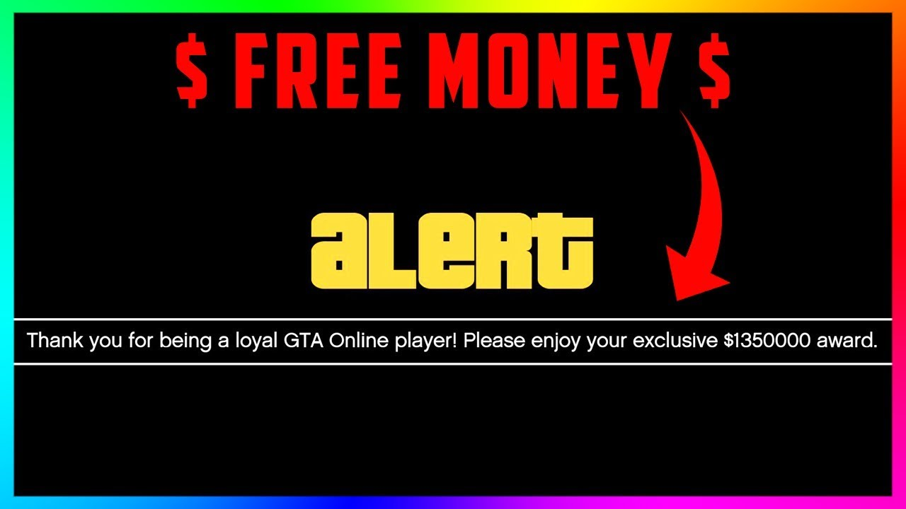 Exclusive Free Money Cash Award Is Here For Being A Loyal Player In Gta Online 5