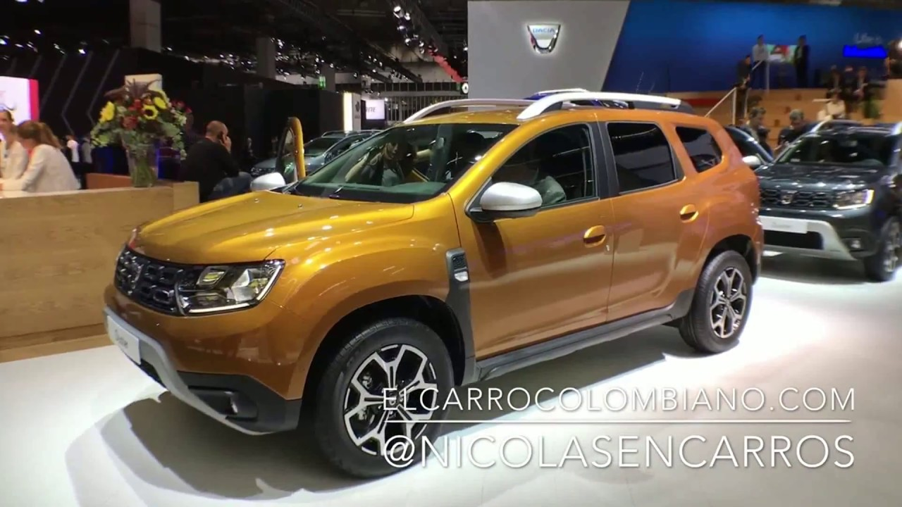 dacia renault duster 2018 presentaci n en el sal n de frankfurt iaa 2017 youtube. Black Bedroom Furniture Sets. Home Design Ideas