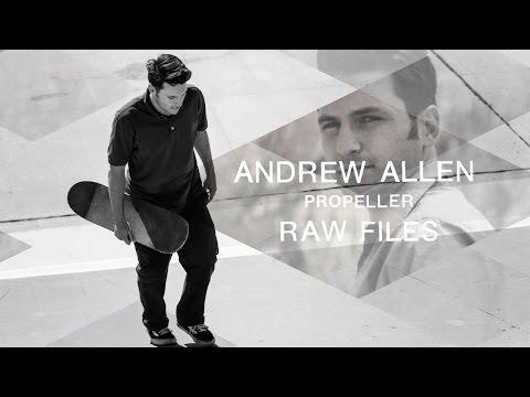 Andrew Allen's 'Propeller' RAW FILES