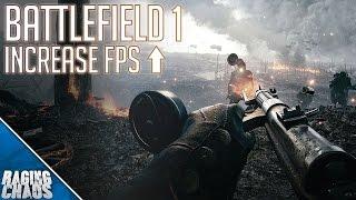 Battlefield 1 pc increase frame rates frame dropstutter fix