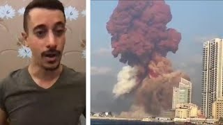 Beirut explosion witness describes blast like a 'volcano'