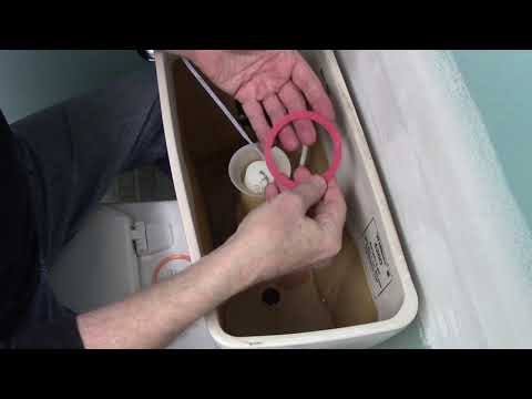 Replace A Champion Flush Valve Seal - American Standard Toilet