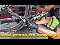 POWER METER installed on the Fuji race bike! - #cycling Los Angeles