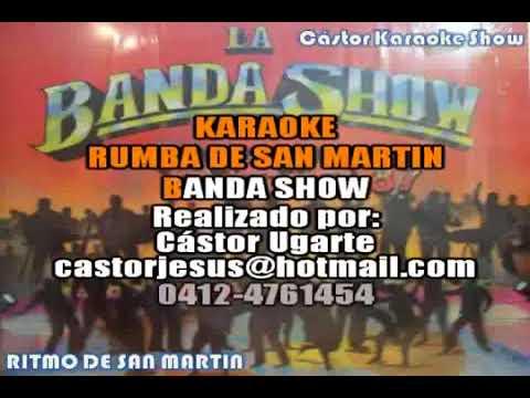 Karaoke ritmo de san martin   la banda show panamayoutube com