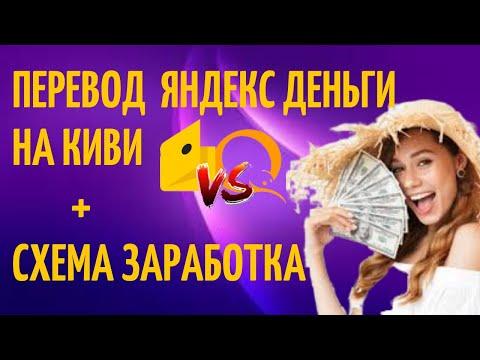 Как перевести деньги с Яндекс Деньги на Qiwi кошелёк в  2020 ГОДУ. ОБМЕН YANDEX НА QIWI.