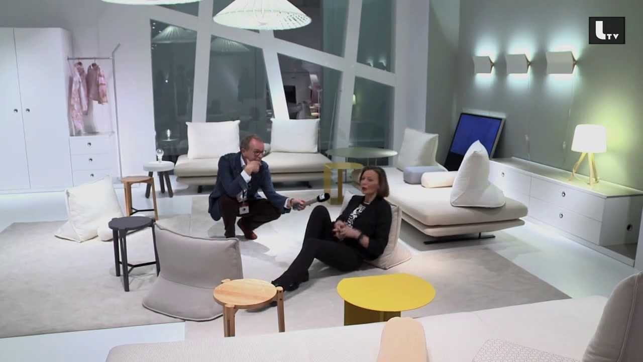 Koinor Sofa Ligne Roset Imm Cologne 2014 :: Lifestyle Tv - Youtube