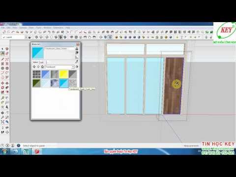 Hướng dẫn tự học SketchUp từ cơ bản đến nâng cao phần 6