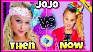 JoJo Siwa First Vs Last Musical.ly Compilation | Then And Now Musically 2017