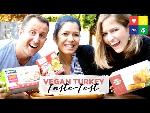 VEGAN THANKSGIVING TURKEY TASTE TEST