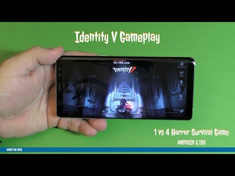 Identity V Android Gameplay (1 vs 4 Horror Survival Game)