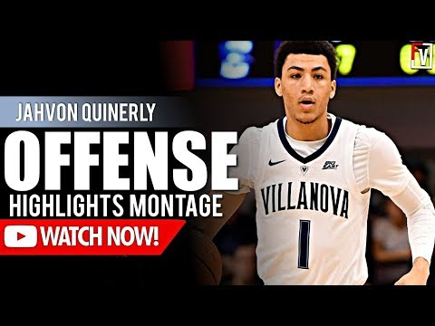 b53e2ad590e4 Jahvon Quinerly Villanova Freshmen Regular Season Highlights Montage  2018-19 - Jelly JQ!