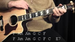 Going to Kansas City Marcus Mumford basement tapes guitar lesson
