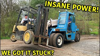 Rebuilding The Worlds Biggest Forklift Part 3