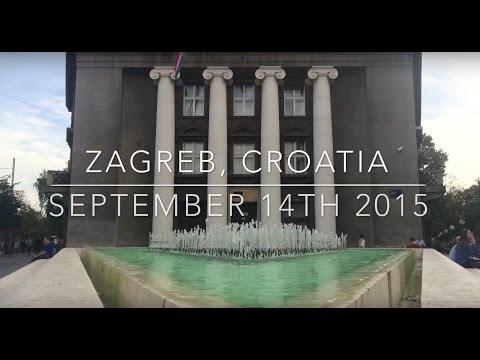 Interrailing Day 32 - Zagreb, Croatia - LIZARD