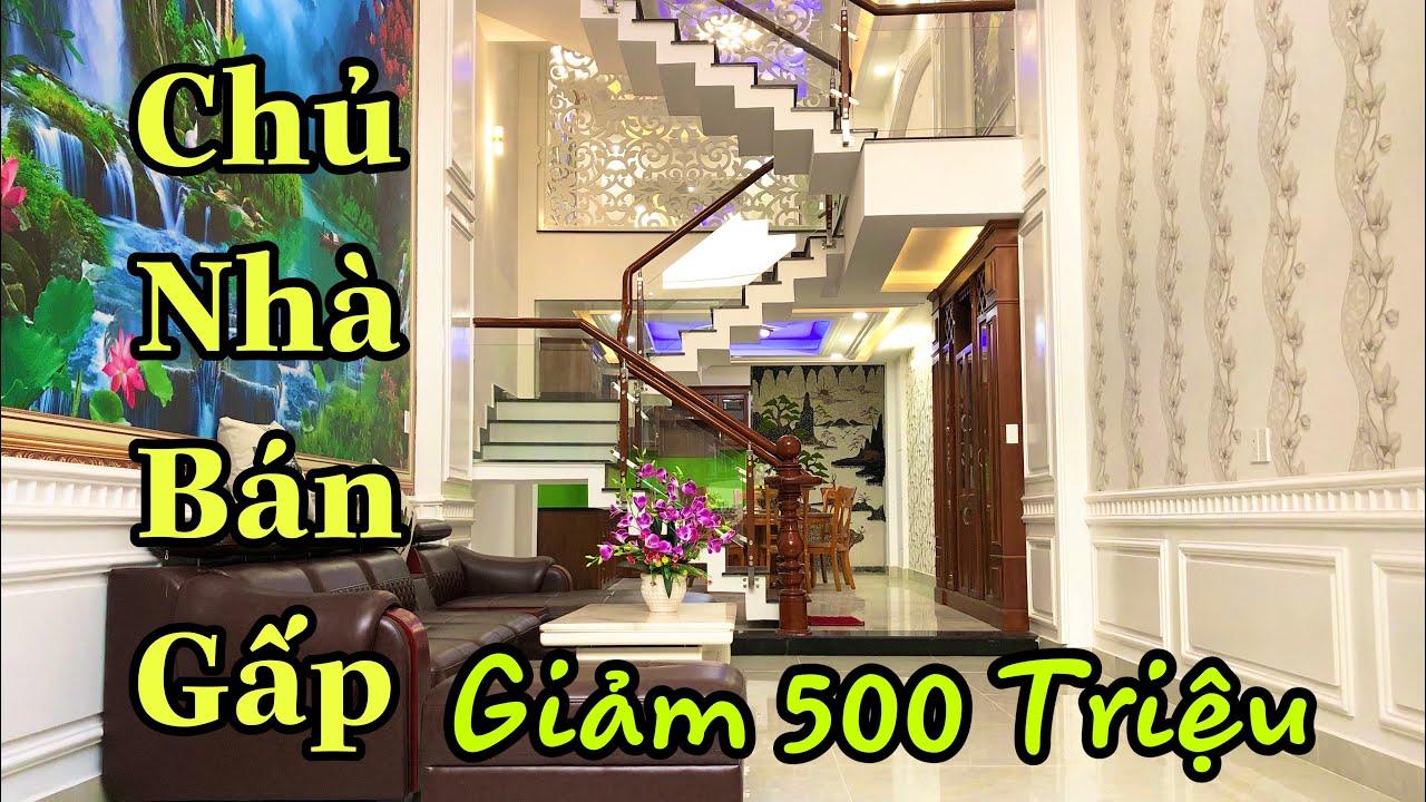 Bán Nhà Quận Tân Bình | Đại hạ giá 500 triệu . Căn nhà 4.2x20M đúc 4 lầu . Phạm văn bạch , hẻm 5m