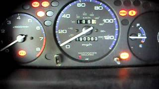 99 civic cel and abs blinking codes