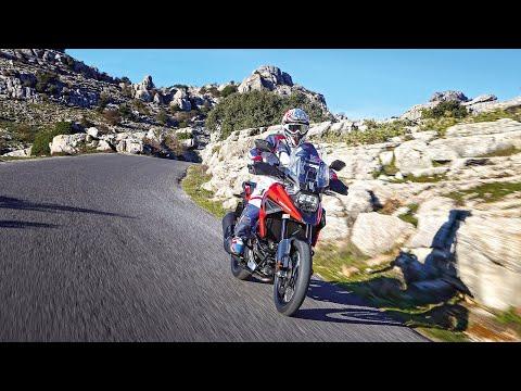 Suzuki V-Strom 1050XT im ALPENTOURER Videoblog