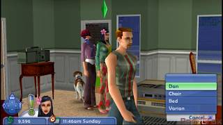 The Sims 2: Pets - PSP Gameplay