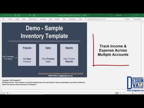 Daily Sales & Inventory Tracking Spreadsheet - [Excel Template | Mode Of Payment Tracking]