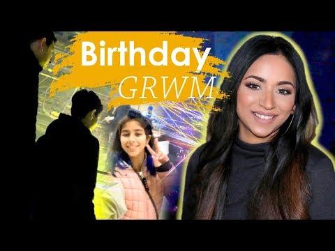 GRWM Birthday Glam | Easy Neutral Makeup Tutorial thumbnail