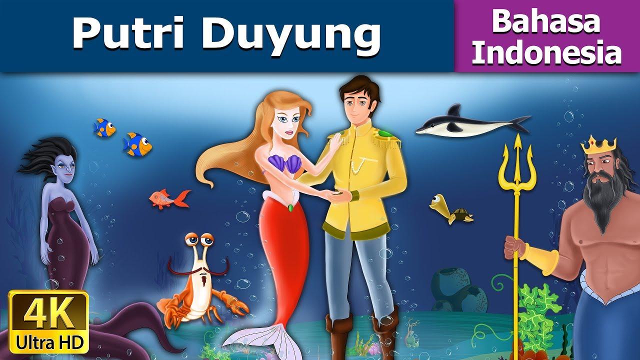 Putri Duyung Dongeng Bahasa Indonesia Dongeng Anak 4K UHD
