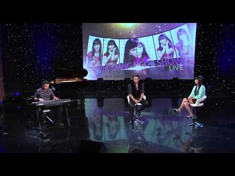 Trò chuyện cùng ca sĩ Đan Nguyên trong THE GIÁNG NGỌC SHOW, March 26, 2015