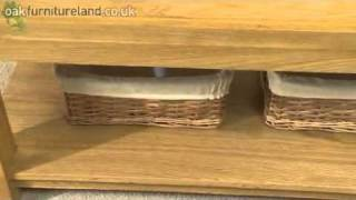Alto Solid Oak Coffee Table From Oak Furniture Land