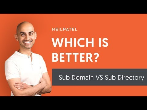 Should You Use Sub Domains or Sub Directories?