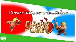 como instalar clahs of clans no droid4x-(simulador de andoid para pc)