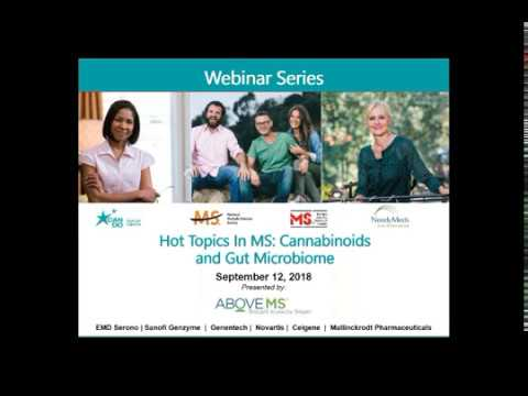 Hot Topics in MS: Cannabinoids and Gut Microbiome