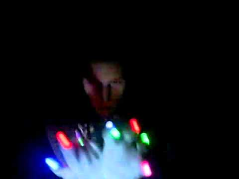 Light glove show. By static. Team Eo Nomine.