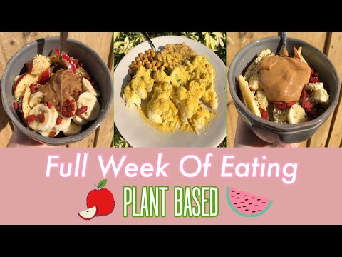 What I Eat in a Week//Plant Based🌱🥑
