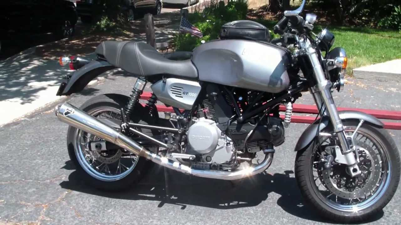 ducati sport classic gt 1000 motorcycle youtube. Black Bedroom Furniture Sets. Home Design Ideas