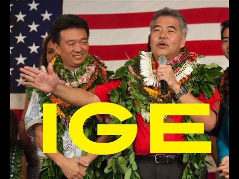 Hawaii Life : David Ige for Hawaii Governor