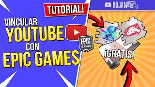HOW TO LINK YOUTUBE WITH EPIC GAMES AND RECEIVE FORTNITE'S FREE REWARDS