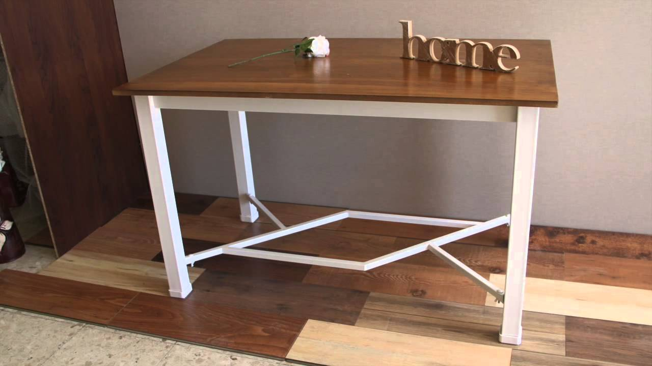 mesa camilla desmontable en forja youtube