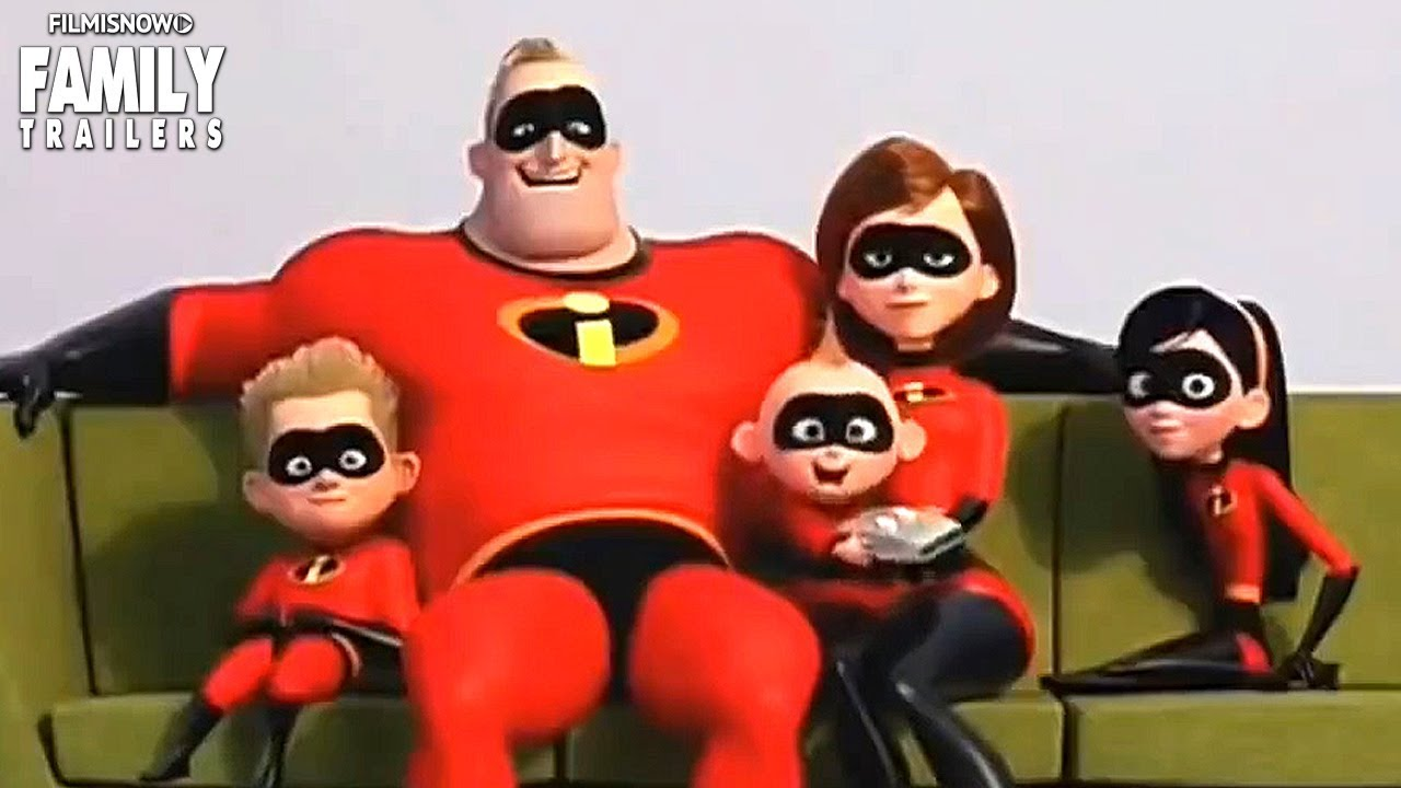 Incredibles 2   Winter Olympics Trailer Preview Spot for Disney Pixar Family Movie - YouTube