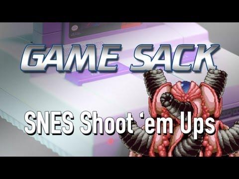SNES Shoot 'em Ups - Game Sack