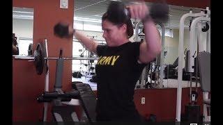 Ohio National Guard Soldier female bodybuilder