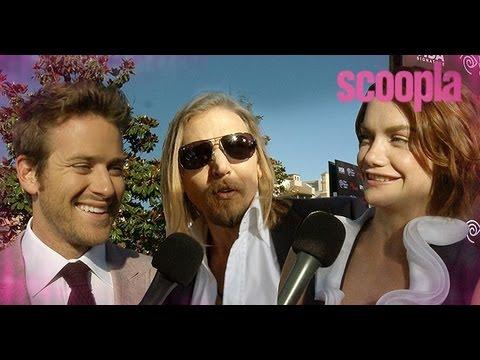 The Lone Ranger Stars Do Cowboy Stunts! - Scoopla TV