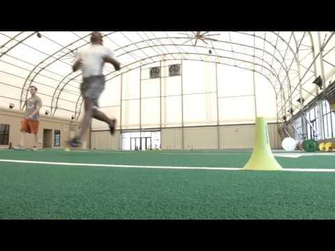Cedric Benson workout [April 17, 2013]