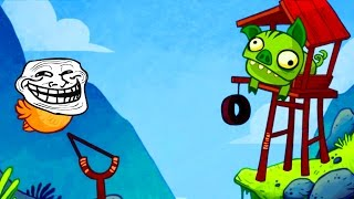 TROLLAGEM NO ANGRY BIRDS! - TROLLFACE QUEST VIDEO GAMES